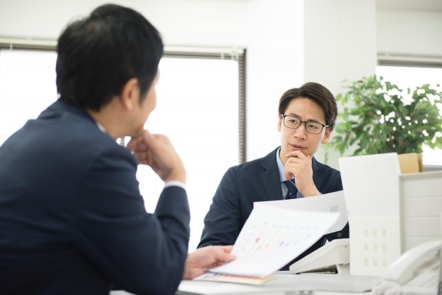 会議中のイメージ画像